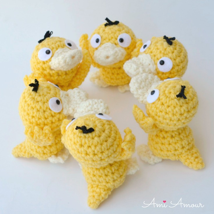 Every Pokemon fan needs to see these adorable crocheted critters ... | 735x735