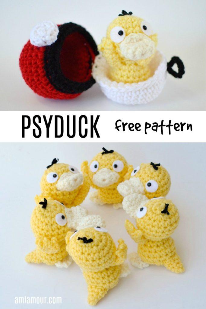 Crochet Pokemon Patterns - Crochet Now | 1024x683