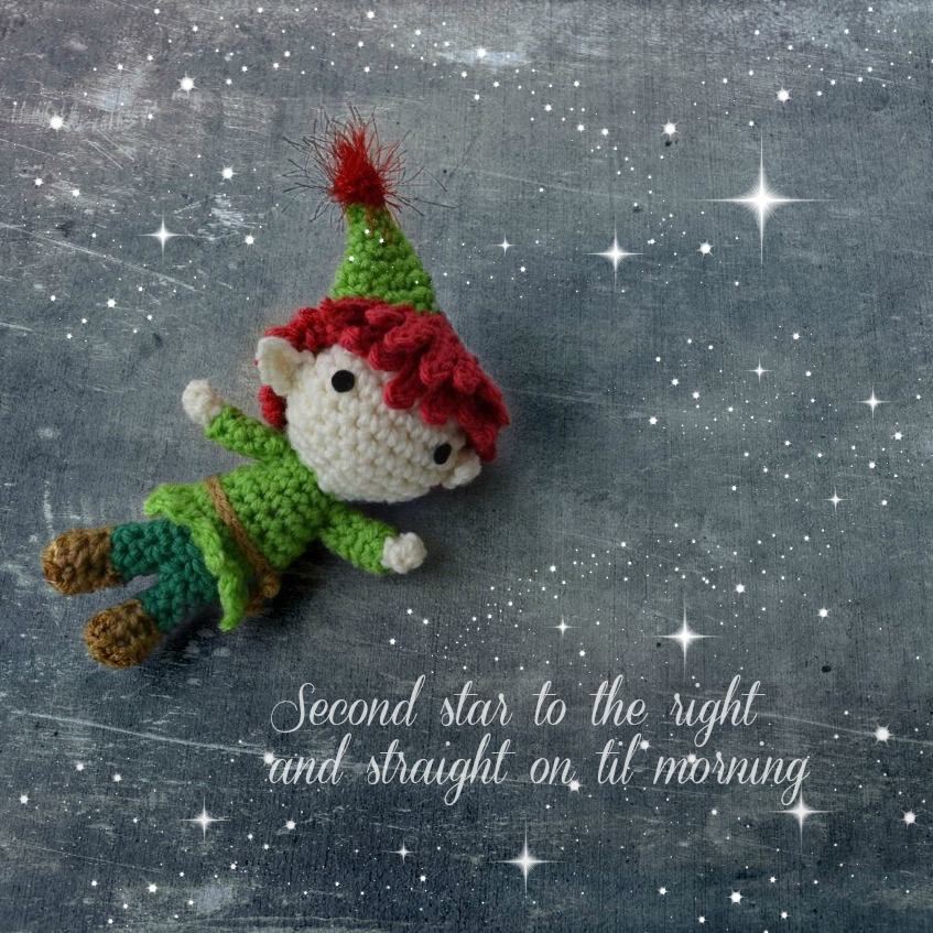 Peter Pan Amigurumi Crochet Pattern - Free!