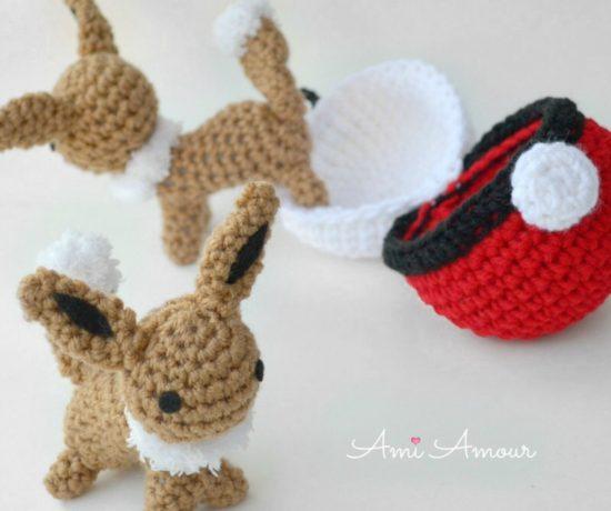 Eevee Amigurumi - Free Crochet Pattern