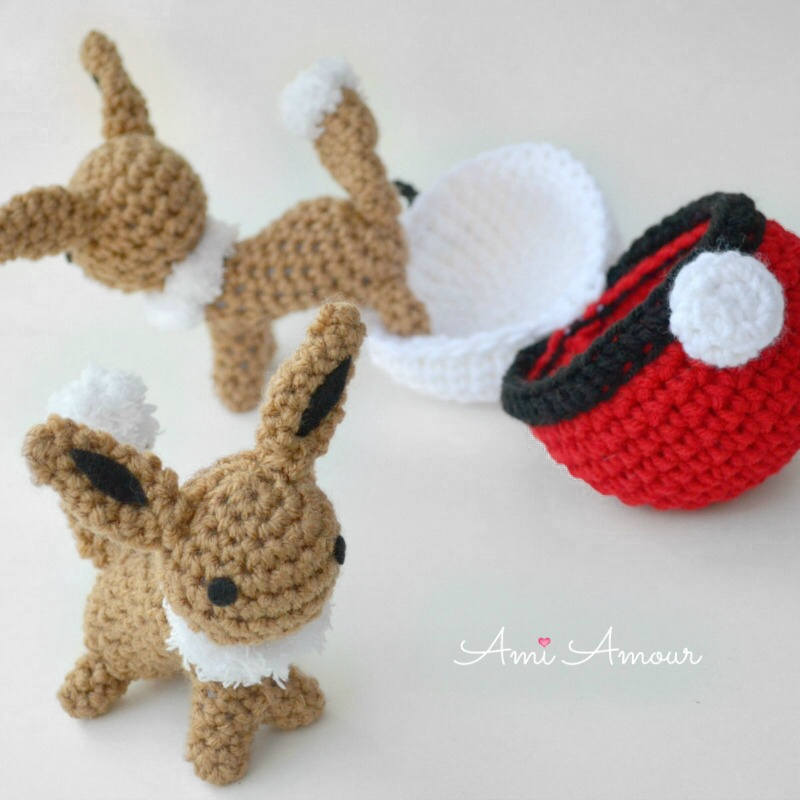 12 Free Pokemon Go Amigurumi Crochet Patterns | Pokemon crochet ... | 800x800