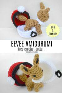 Eevee Amigurumi Free Crochet Pattern
