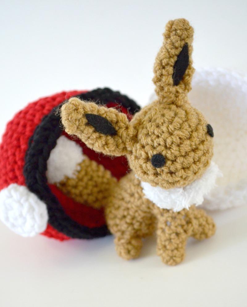 Eevee Amigurumi Pattern - Free Crochet