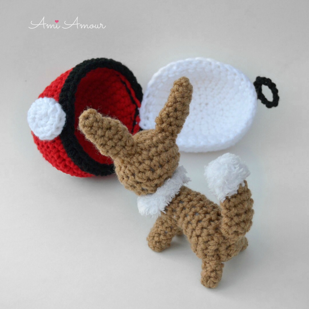 Eevee Amigurumi Pokemon Free Crochet Pattern