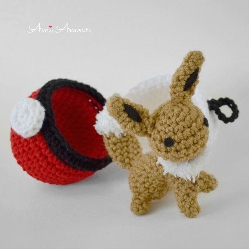 Chibi Eeveelution Pattern Pack | Pokemon crochet pattern, Crochet ... | 800x800