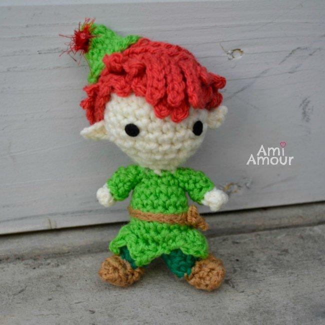 Peter Pan Crochet Doll - Kostenloses Amigurumi-Muster