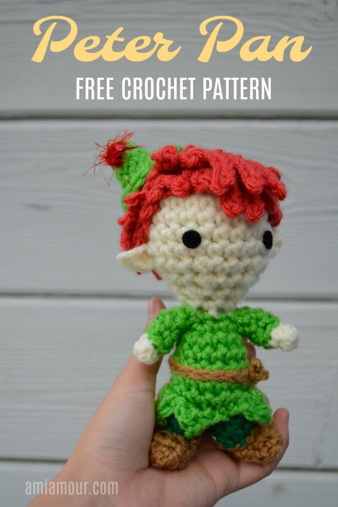 Peter Pan Crochet Pattern Free