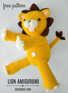 Crochet Lion Amigurumi Pattern - Free