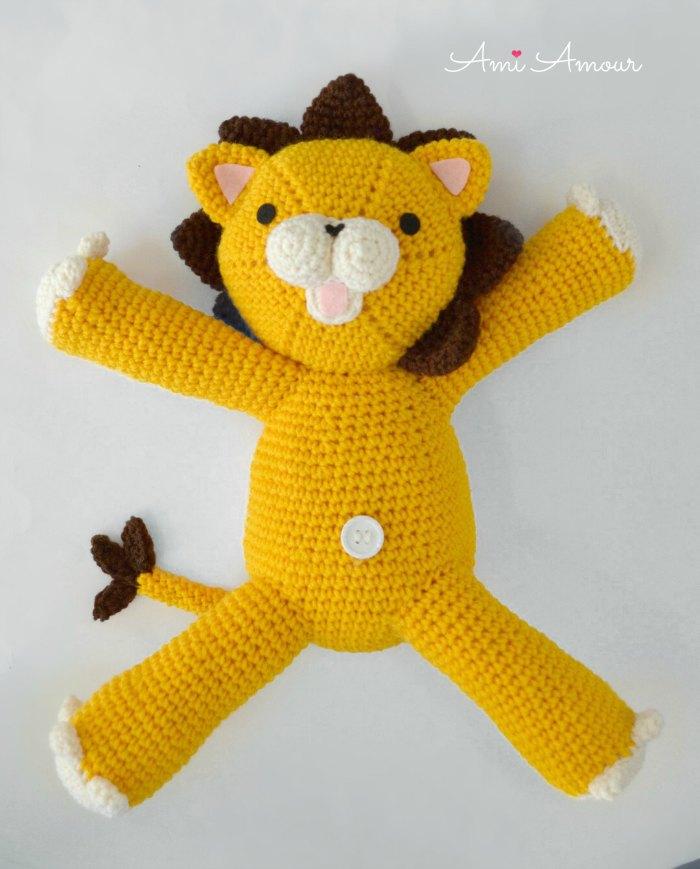 Kon Crochet Lion Amigurumi - Free Pattern