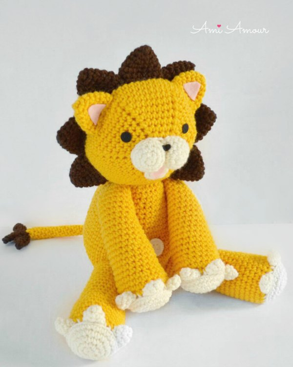Lion Crochet Pattern Amigurumi