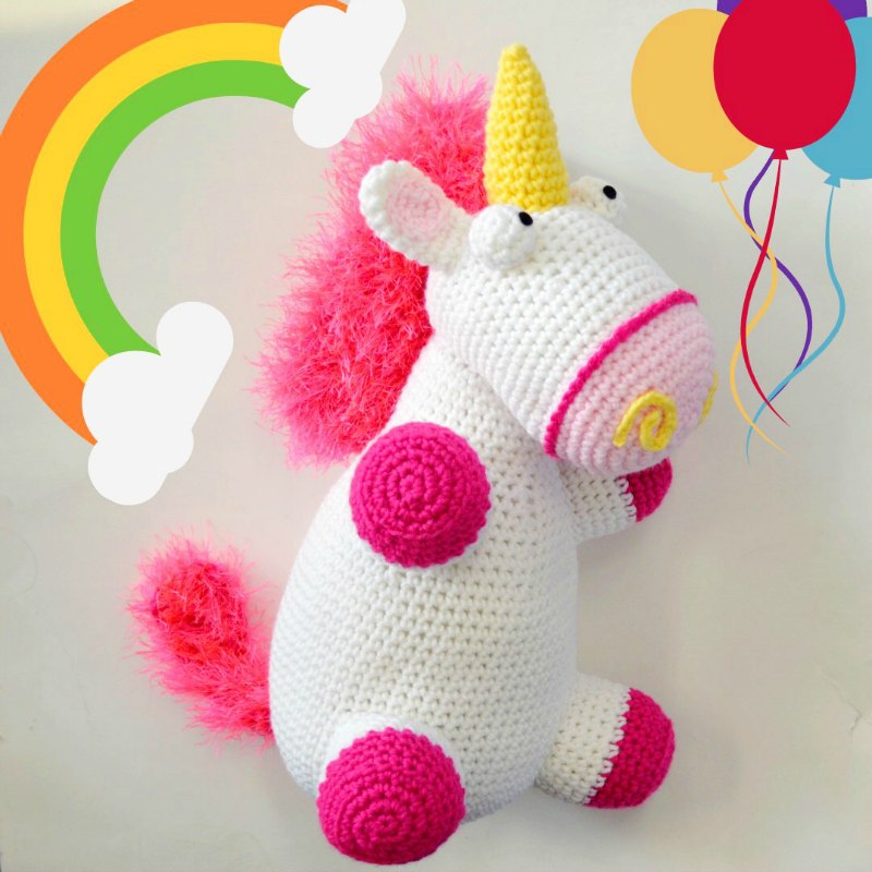 Jazzy the Unicorn | Recipe | Crochet unicorn pattern, Crochet ... | 800x800