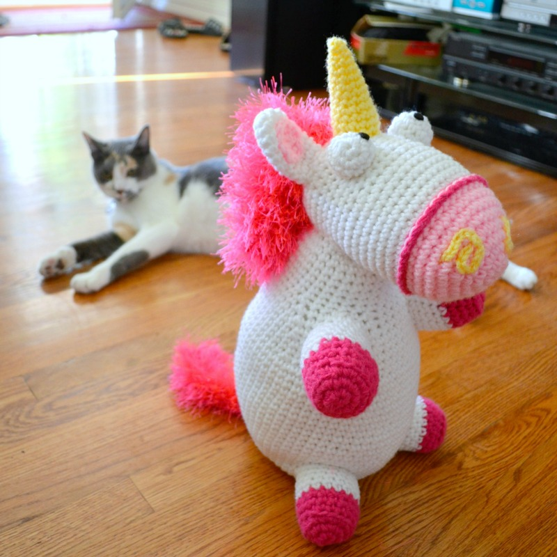 Fluffy Unicorn Amigurumi - Free Crochet Pattern