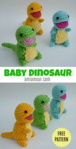 Dinosaur Amigurumi Pattern - Free