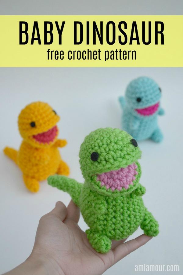 Dinosaur Free Crochet Pattern