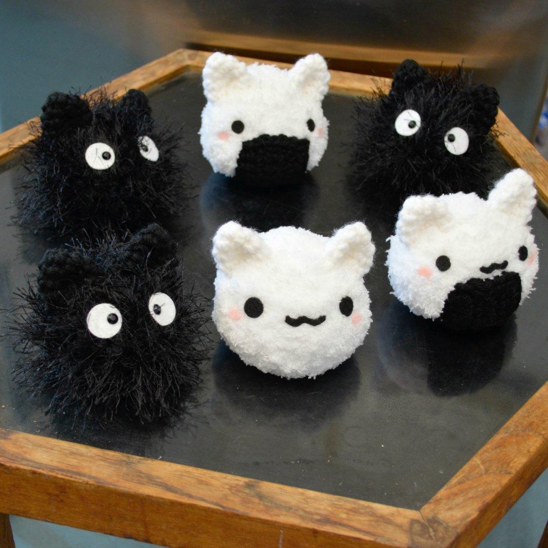 Mochi Cat Amigurumi Crochet