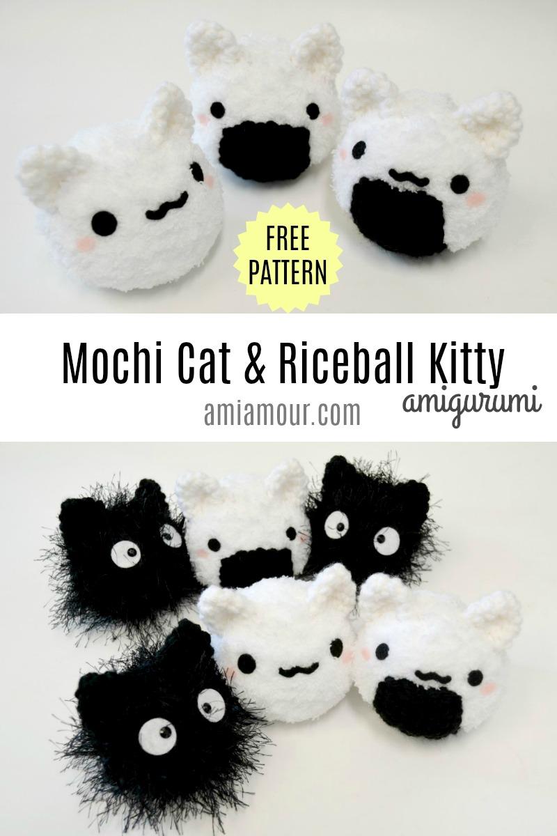 Mochi Cat Amigurumi - Free Crochet Pattern
