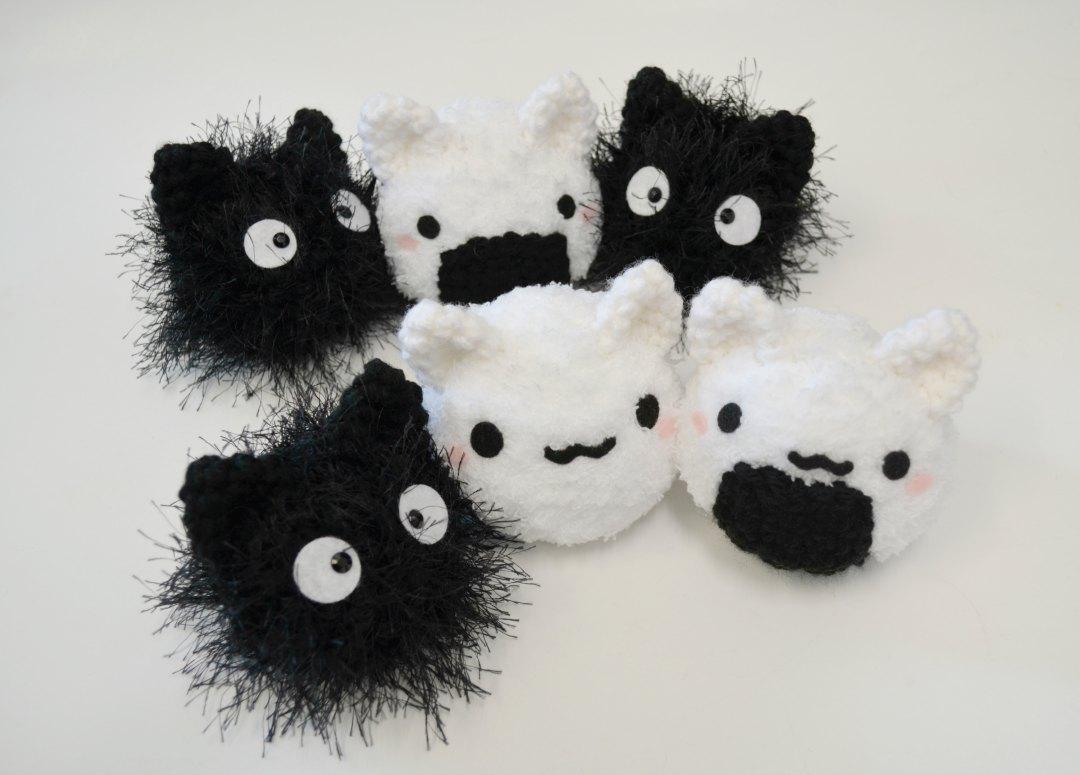 Mochi Cat Crochet Amigurumi