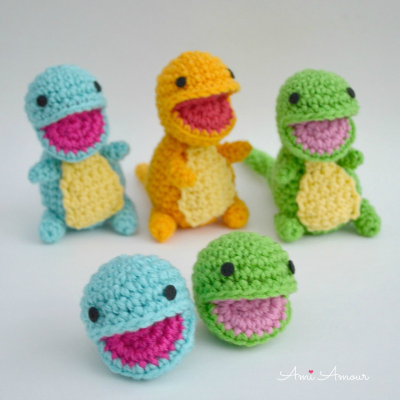 Open Mouth Amigurumi Pattern