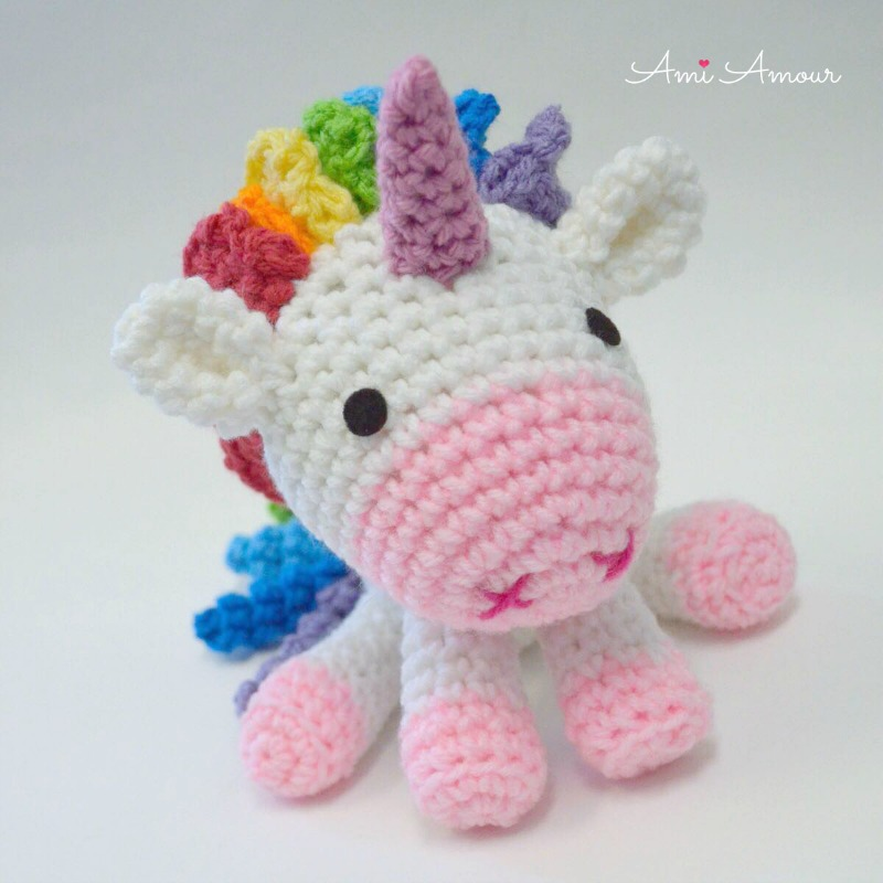 Rainbow Unicorn Crochet