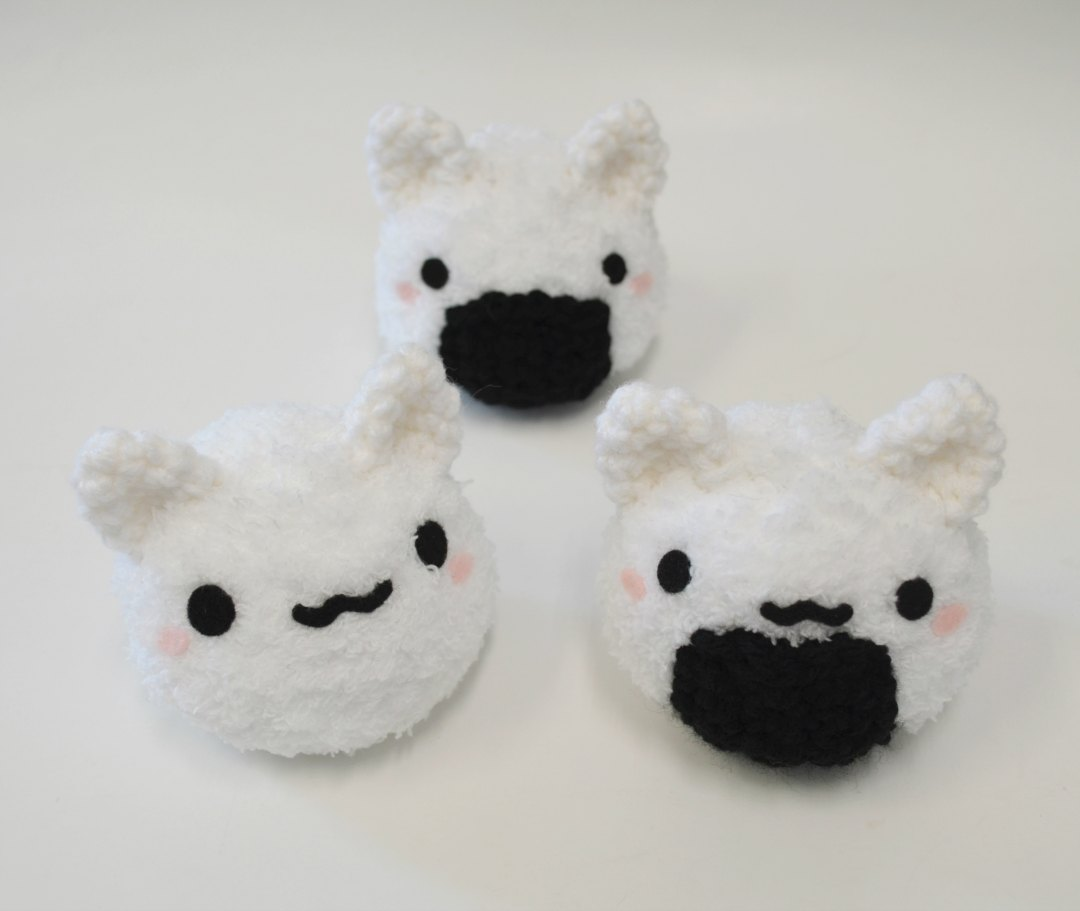 Riceball Kitty Amigurumi