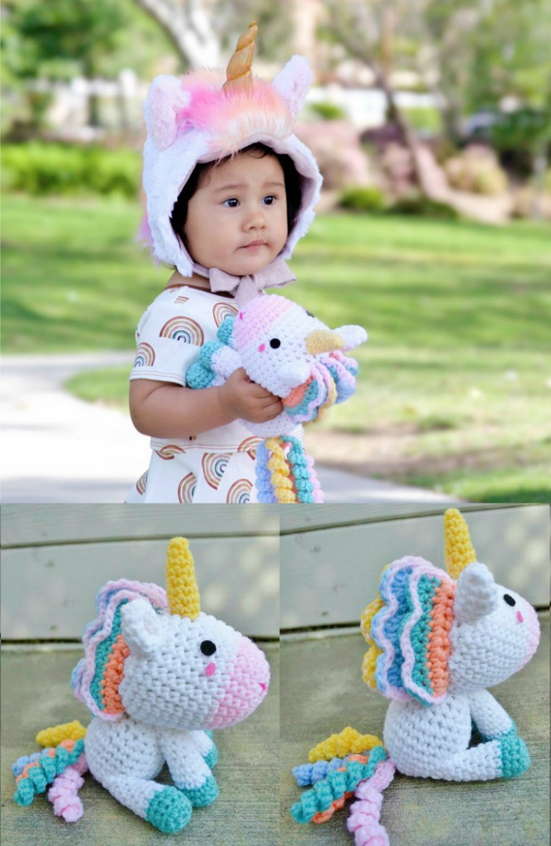 Unicorn Amigurumi Pattern