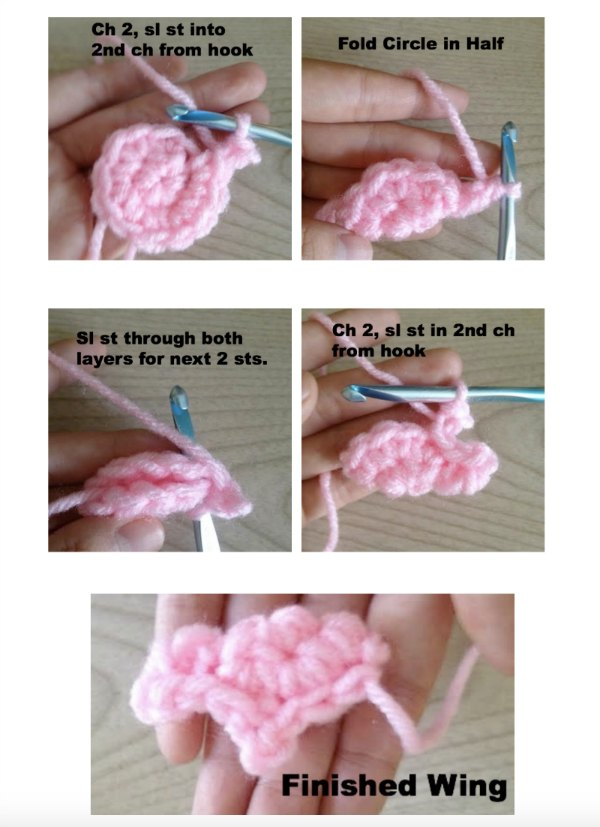 Crochet Wing Tutorial