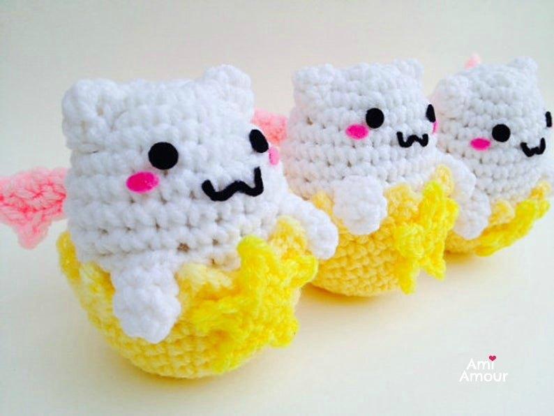 Tamadra Amigurumi Free Crochet Pattern