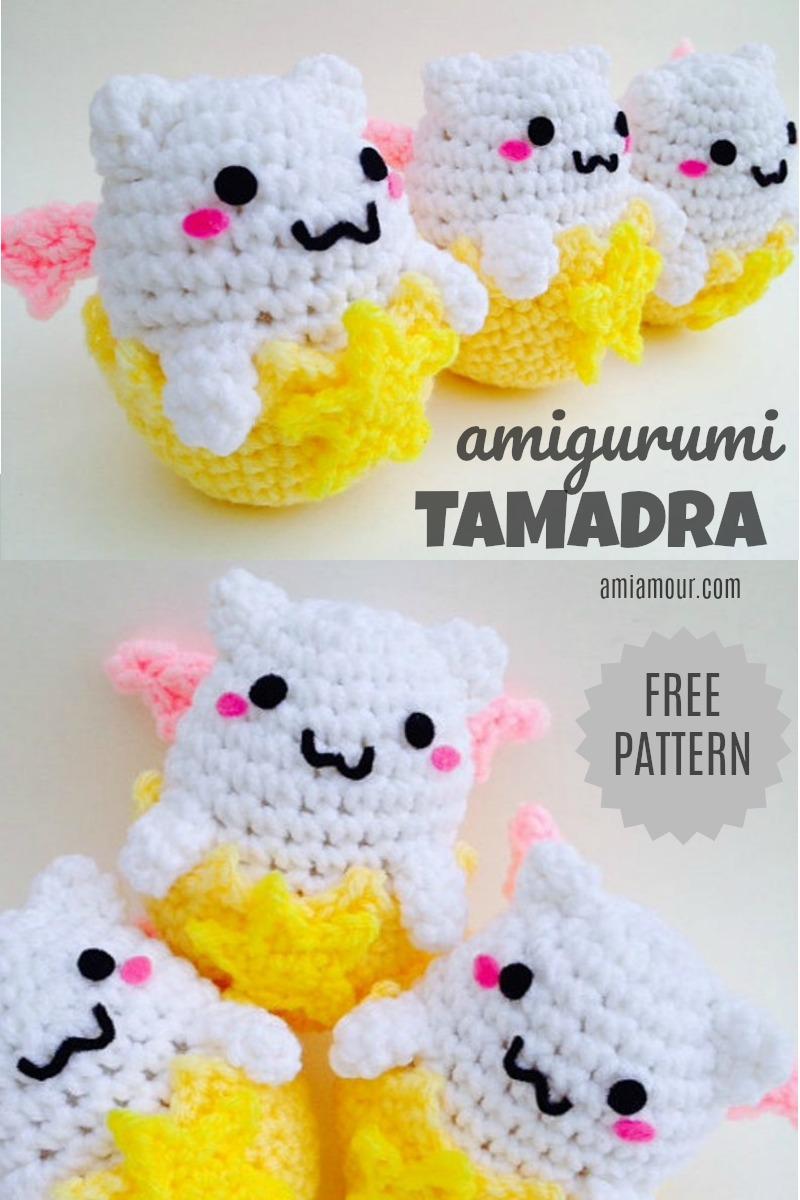 Tamadra Amigurumi Egg Crochet Pattern Free