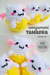 Tamadra Amigurumi Egg Free Crochet Pattern