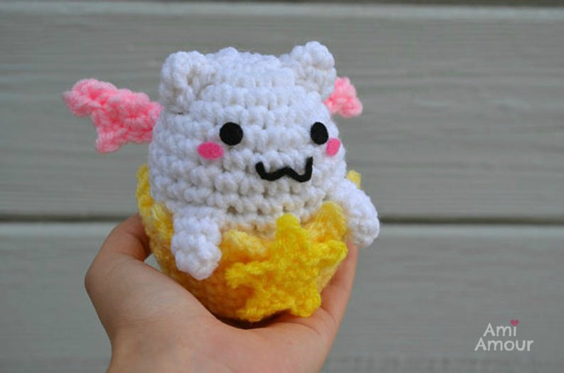 Tamadra Crochet Puzzle and Dragons