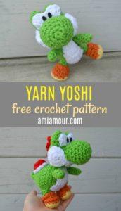 Yoshi Crochet Pattern Free