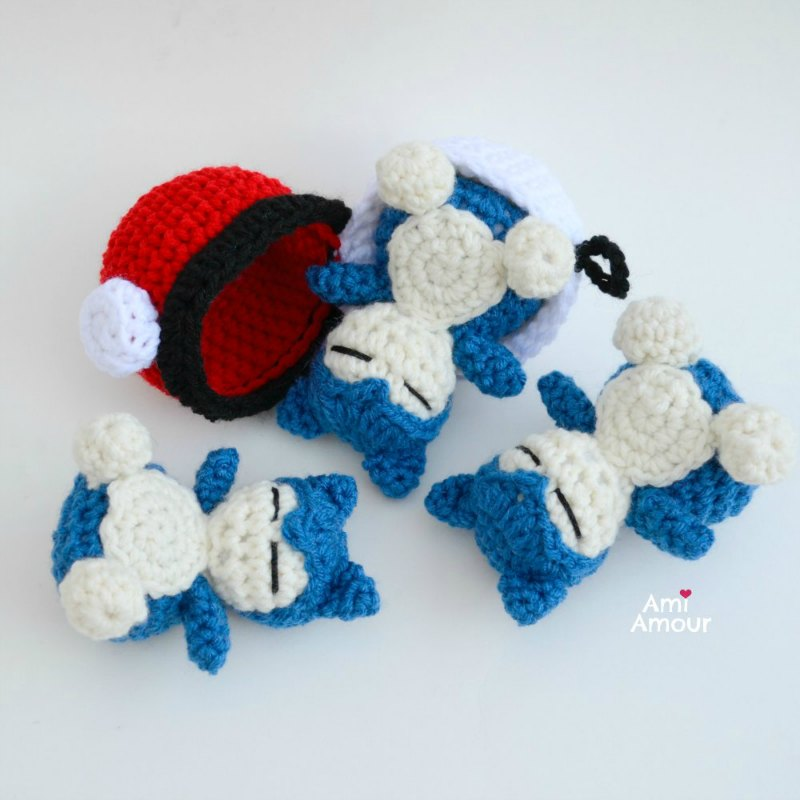 17 Pokemon Crochet Patterns You'll Adore | FaveCrafts.com | 800x800