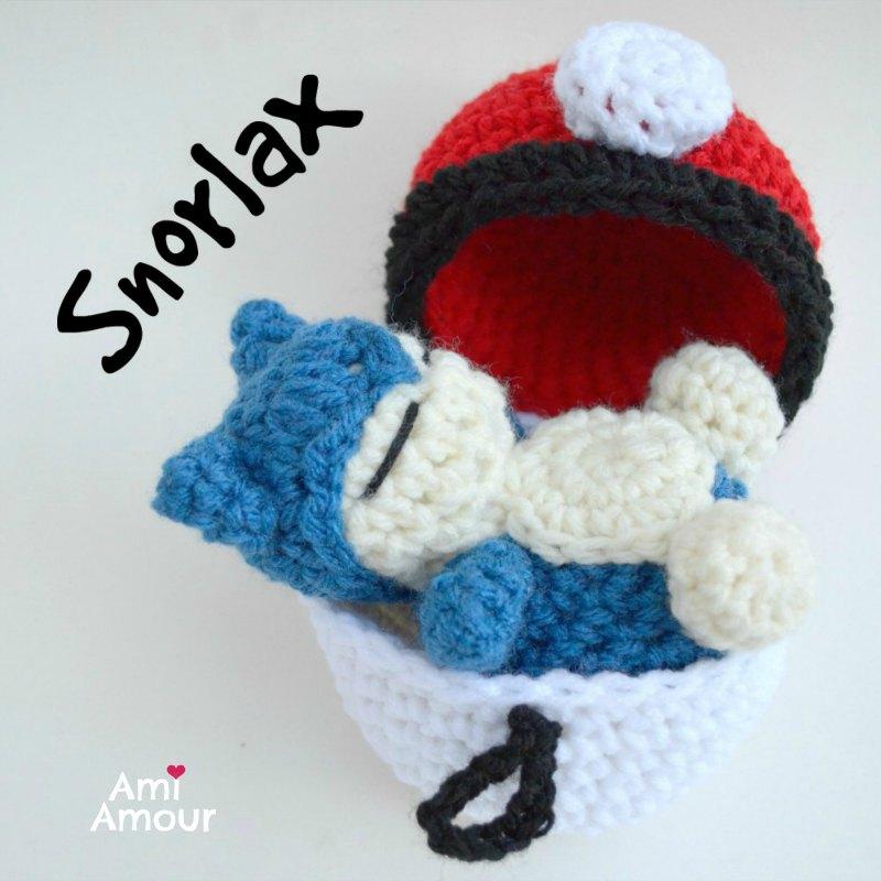 Snorlax Amigurumi Pattern