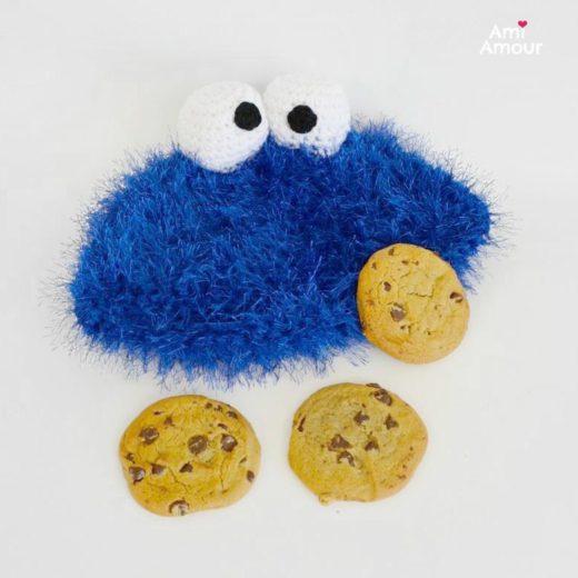 Cookie Monster Hat Crochet Pattern