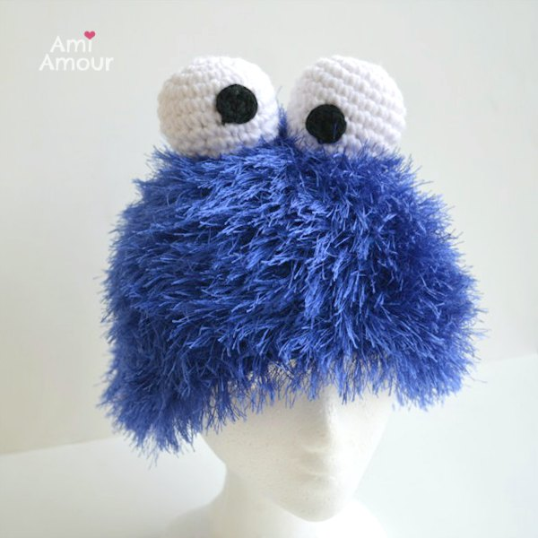 Cookie Monster Hat Front
