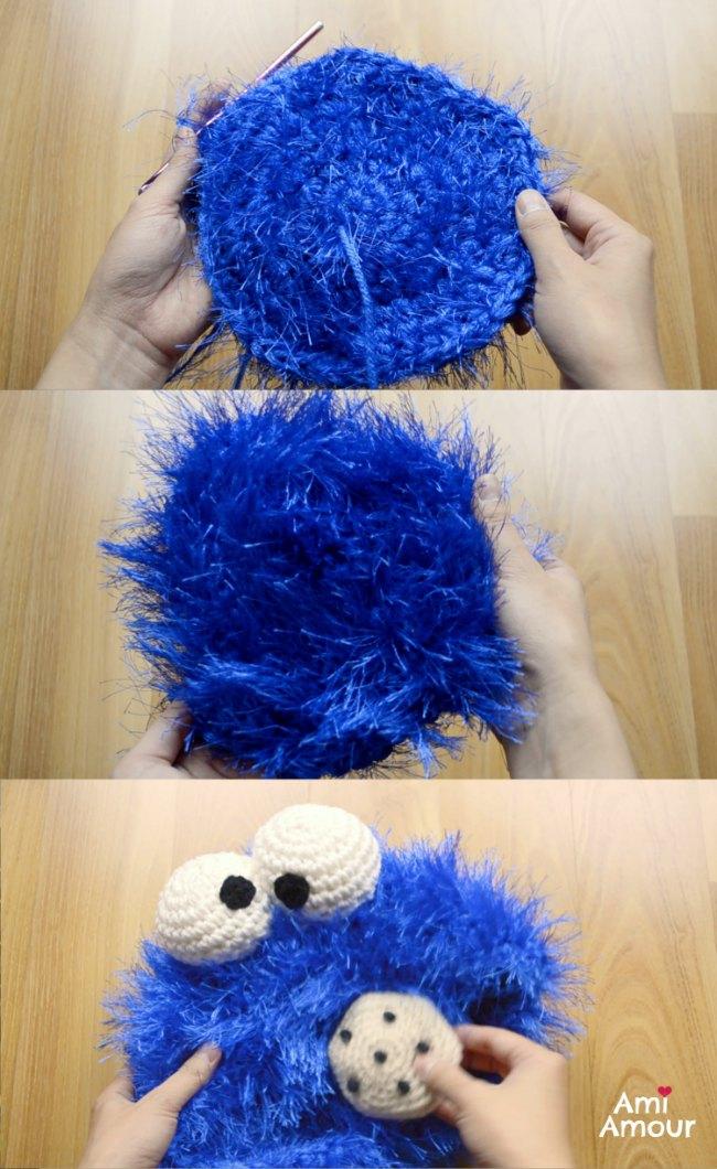 Cookie Monster Pattern WIP