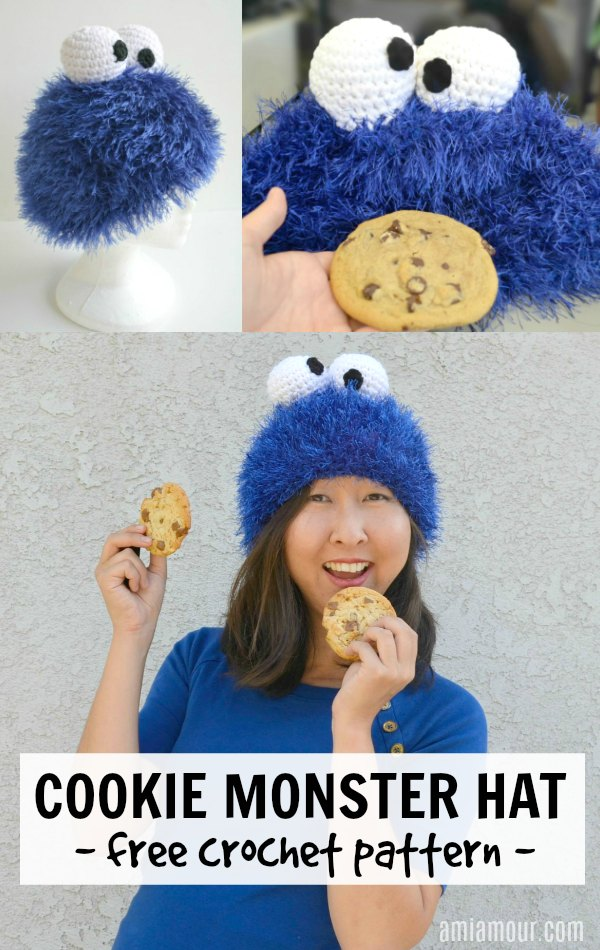 Crochet Cookie Monster Free Pattern