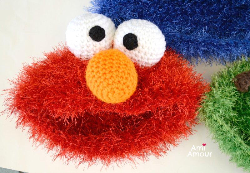 Elmo Hat Crochet