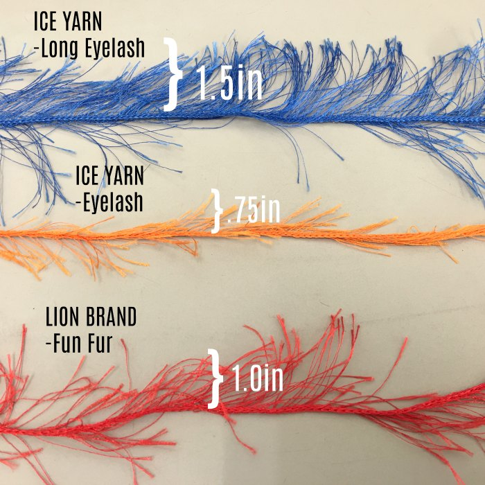 Eyelash Yarn Guide