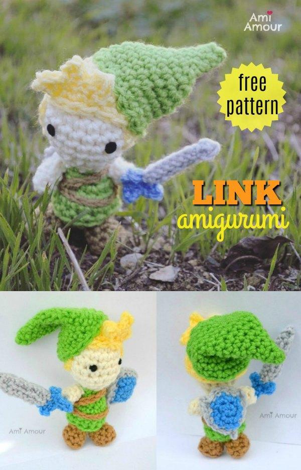 Link Amigurumi Free Crochet Pattern