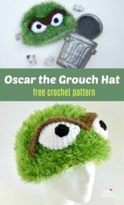 Oscar the Grouch kostenlose Häkelanleitung