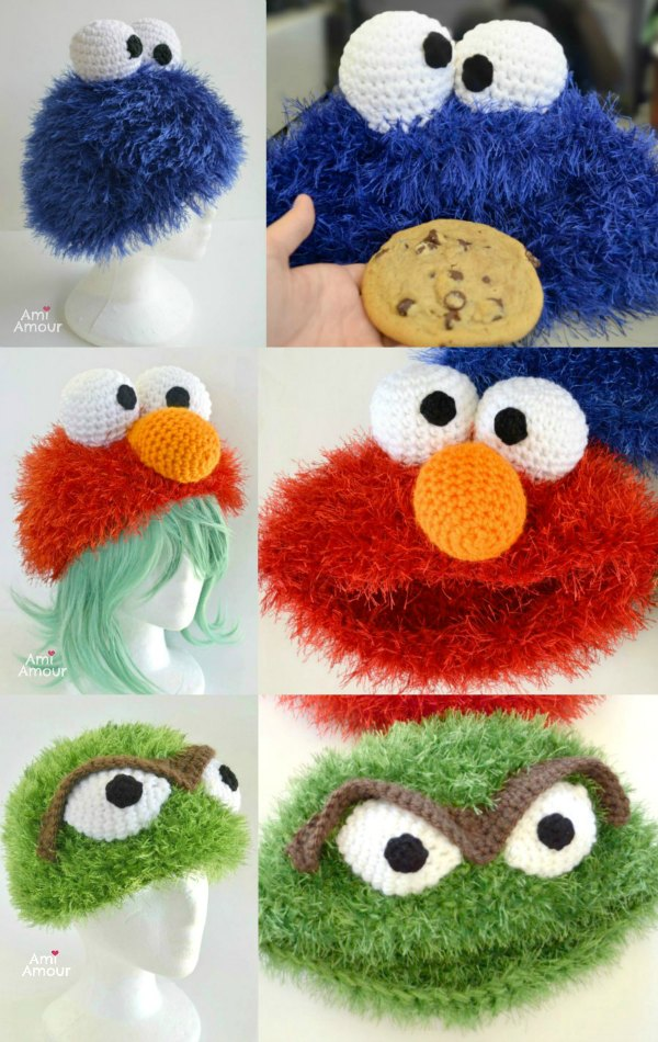 Sesame Street Free Crochet Patterns