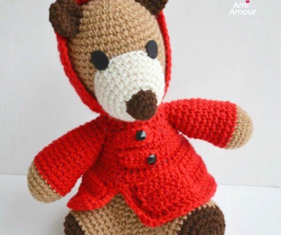 Teddy Bear Amigurumi Free Crochet Pattern