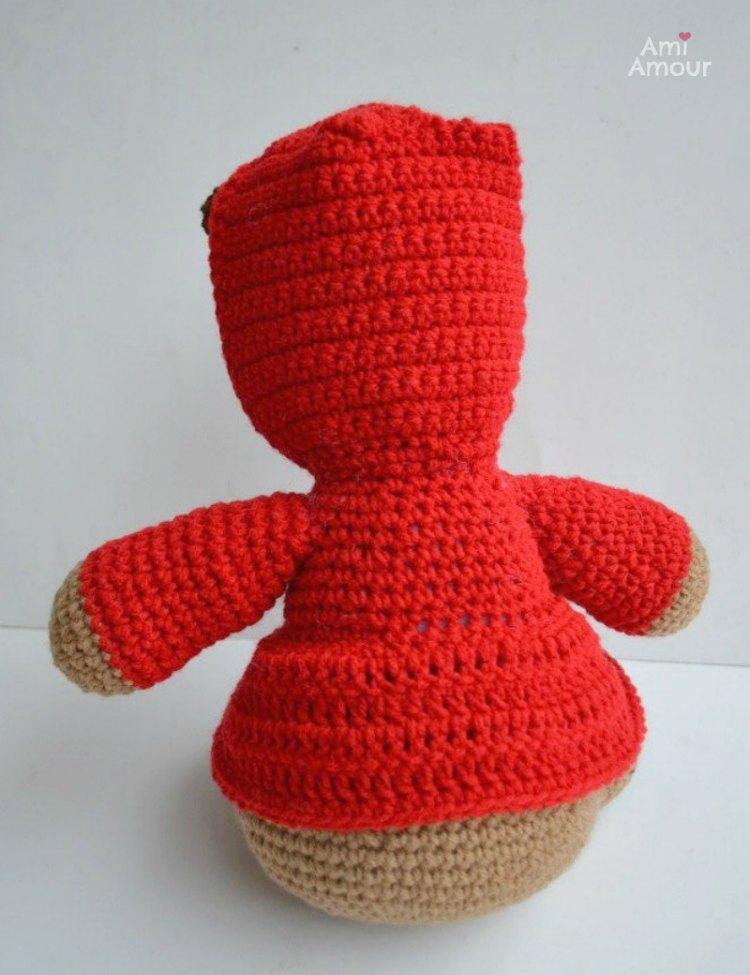 Back of Teddy Bear