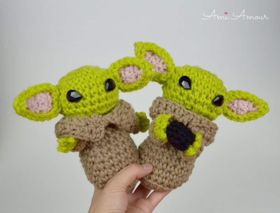 Baby Yoda Amigurumis