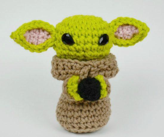 Baby Yoda Crochet Amigurumi Free Pattern