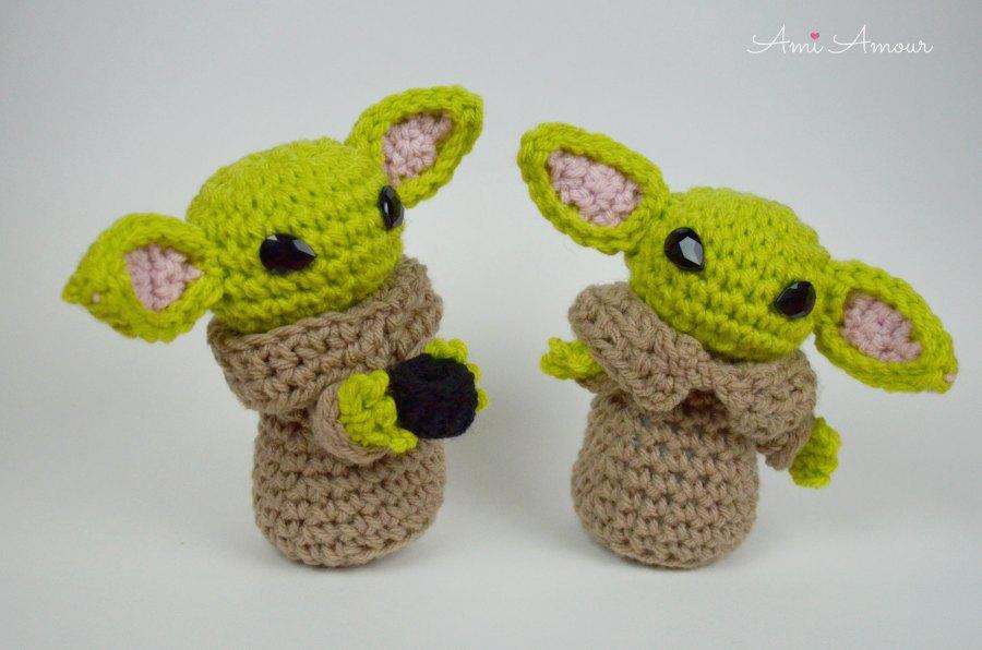 Yoda Amigurumi Pattern - Free
