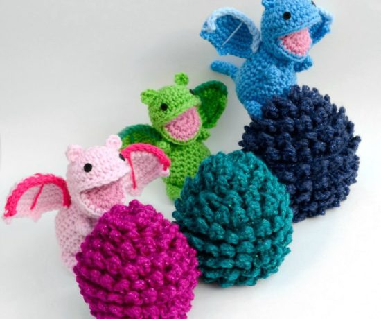 Crochet Dragon Egg Pattern