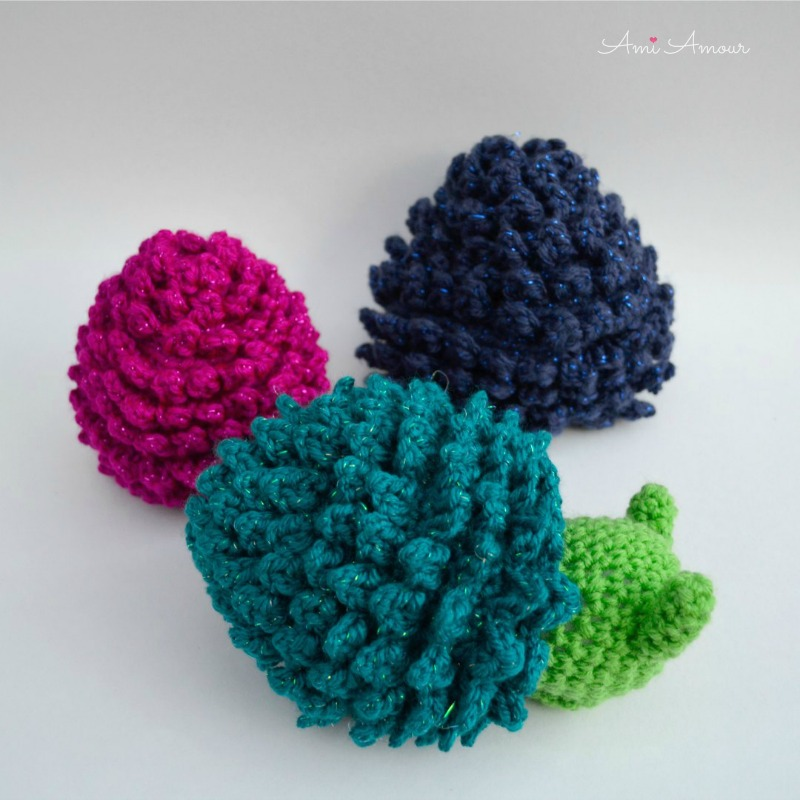 Crochet Dragon Egg with Baby Dragon