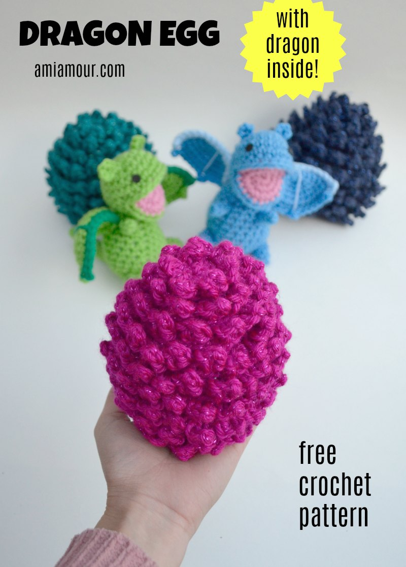 Dragon Egg Free Crochet Pattern